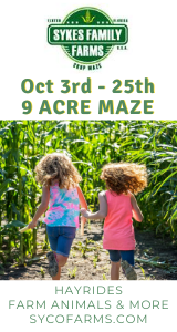 Sykes Family Farms Corn Maze