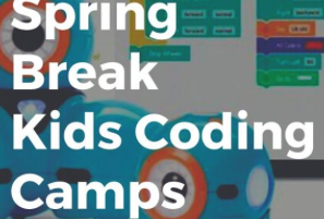 Kids Can Code Spring Break Camp Extension