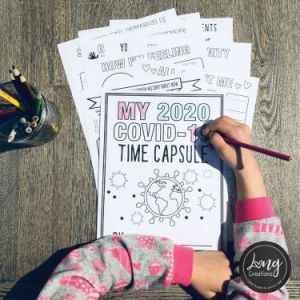 LONG Creations My COVID-19 2020 Time Capsule Free Printable