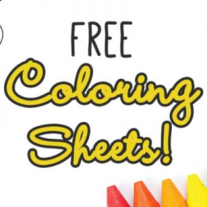 Color Me Mine Free Coloring Sheets