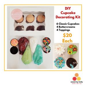 Sweet By Holly DIY Cupcake Kits
